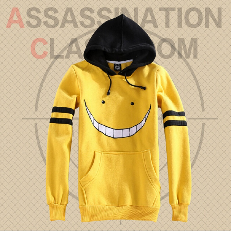 Anime Assassination Classroom Cosplay Korosensei Unisex Long-Sleeved Hoodie Hoodies and pants set Sportswear Sweatshirt Costume