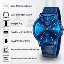 24e3e360bdab En este momento relojes para hombre marca de lujo reloj deportivo ultrafino  de malla Casual impermeable cuarzo Relojes hombres a.