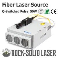 Raycus 50 Вт Q Switched импульсный Ytterbium волоконно лазерный источник генератор ipg маркировка гравировка гравировальный станок Запчасти Оптовая Прод