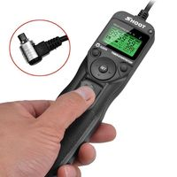 Time Lapse Intervalometer Timer Remote Control Shutter With Cable For Canon 7D 5D Mark Ii III