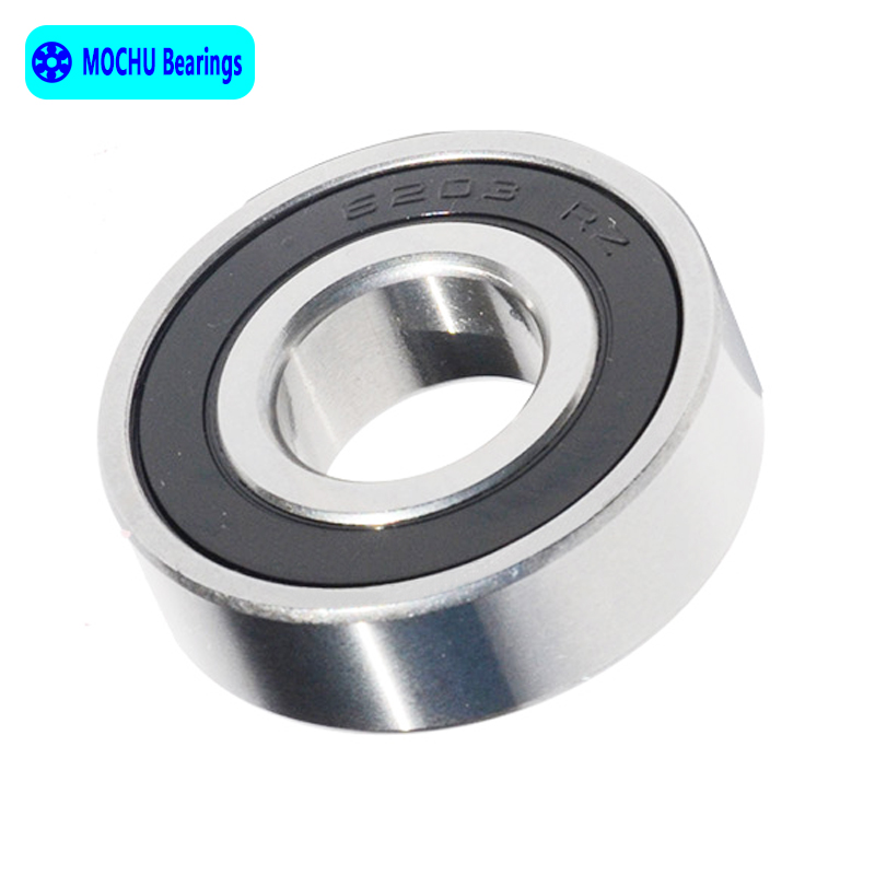 Free shipping 2pcs Bearing 6203 14 6203-14RS 6203-14-2RS 17x40x14 MOCHU Deep groove ball bearing Single row 6007rs 35mm x 62mm x 14mm deep groove single row sealed rolling bearing