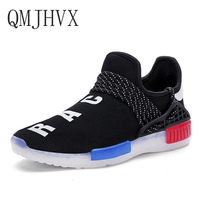 2019summer Sneakers Couple casual shoes For Men Women student sports zapatos de mujer mesh letters USB charging LED light shoes