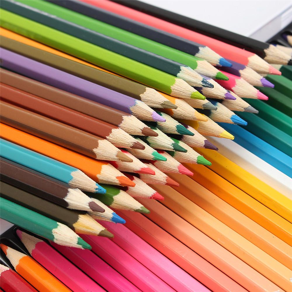 Premium Soft Core Watercolor Pencils 72 lapis de cor Professional Water Soluble color Pencil for Art School SuppliesPremium Soft Core Watercolor Pencils 72 lapis de cor Professional Water Soluble color Pencil for Art School Supplies