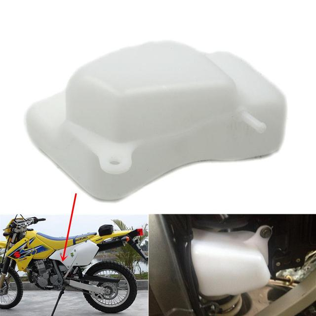 ABS Plastic Replacement Set Water Coolant Reservoir Tank Radiator Overflow for Suzuki DRZ400 DRZ400E DRZ400S DRZ400SM 2000-2016