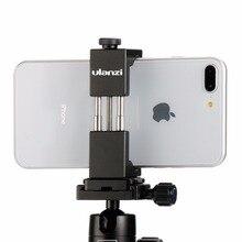 Ulanz смартфон штатив крепление-Ulanzi Железный человек Алюминий Металл Универсальный штатив для смартфона адаптер Держатель клип для iPhone 8