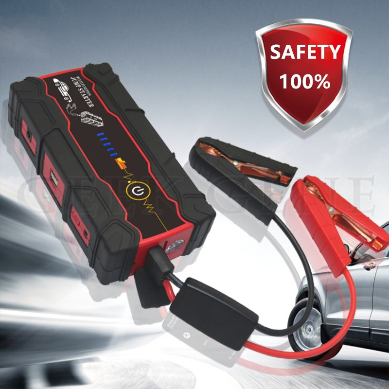 2017 Car Jump Starter  Portable 18000mAh Petrol Diesel Car Charger for Car Battery Booster Buster Power Bank Starting Device multi function car jump starter for 12v diesel petrol car battery booster charger portable 400a starting devcie power bank led