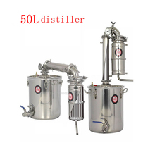 50 л дистиллятор бар бытовые средства вино лимбек дистиллированная вода baijiu большой емкости водка чайник варить виски