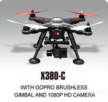 XK DETECT X380C 4CH GPS 2.4GHz RC Quadcopter with Gopro Brushless Gimbal & 1080P HD Camera Circle Hovering Headless Mode RTF