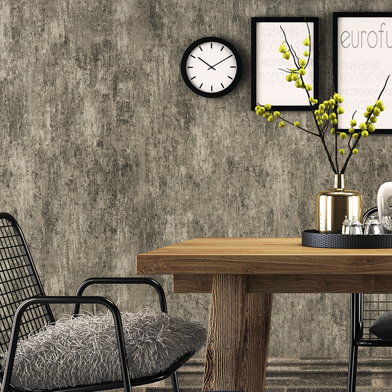 Vintage Wallpaper 3D Imitation Cement Grey Non-woven Wall Paper Roll For Living Room Bedroom Restaurant Home Decor 3D Panel Wall 3d modern wallpapers home decor flower wallpaper 3d non woven wall paper roll bird trees wallpaper decorative bedroom wall paper