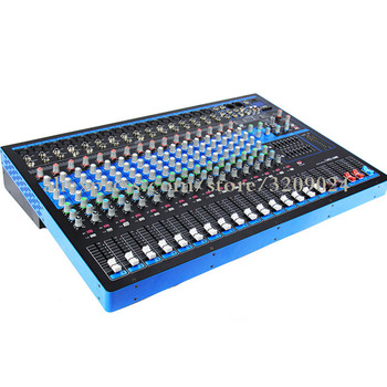 16 Channel Karaoke Audio Mixer Amplifier Professional Microphone Sound Mixing Console 48V Phantom Power With USB MP3
