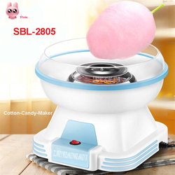 SBL-2805  New Model Automatic Mini Portable Electric DIY Cotton Candy Maker sweet sugar candy sugar candy wires and embroidery