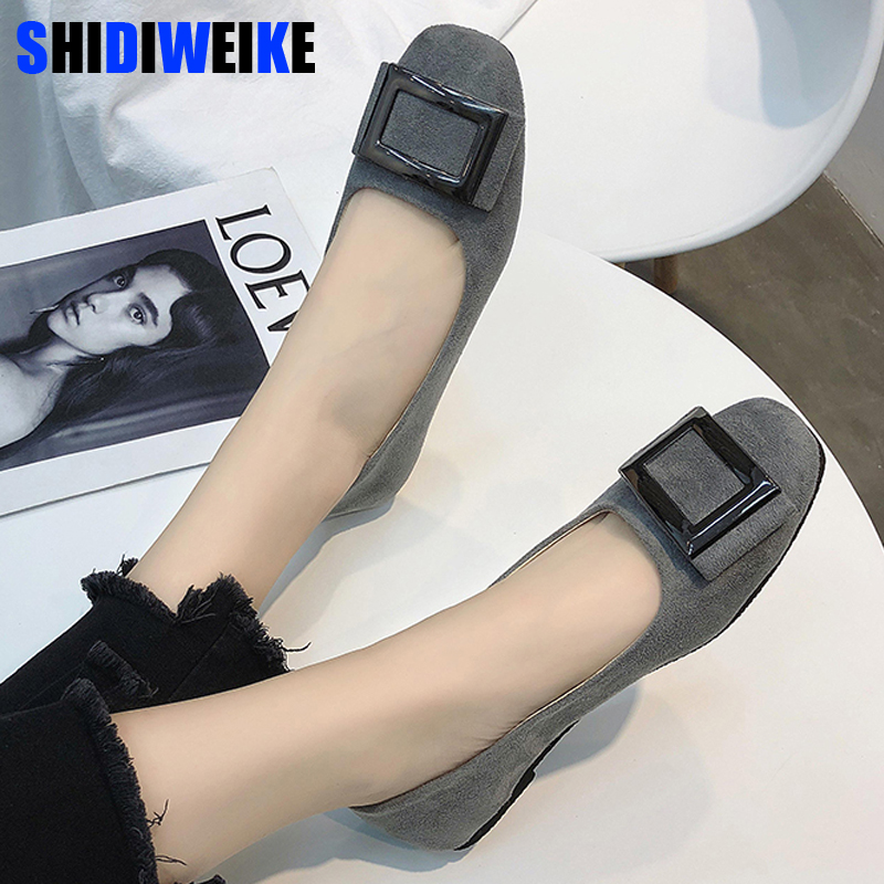 2019 New Arrival Women Flats Shoes Shallow Flat Fashion Spring Autumn Women Shoes Loafers Casual Soft Flat Zapatos Mujer n640