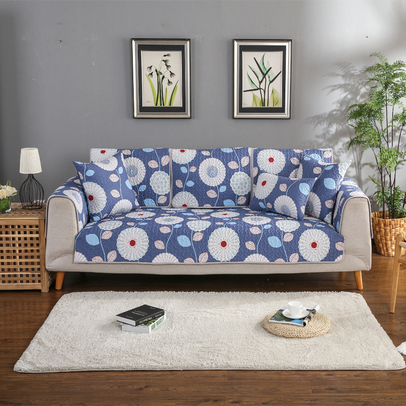AILAQI 100% Cotton Modern Flower Sofa Sover Box Puzzle