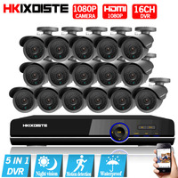 Security Camera System 16ch AHD 1080P CCTV System 1080P CCTV Camera 2 0MP Camera Surveillance System
