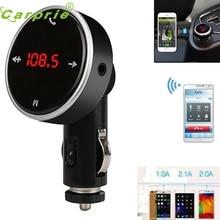 Nueva Llegada Inalámbrica Bluetooth LCD Coche Reproductor de MP3 FM Del Modulador Del Transmisor SD MMC USB st28