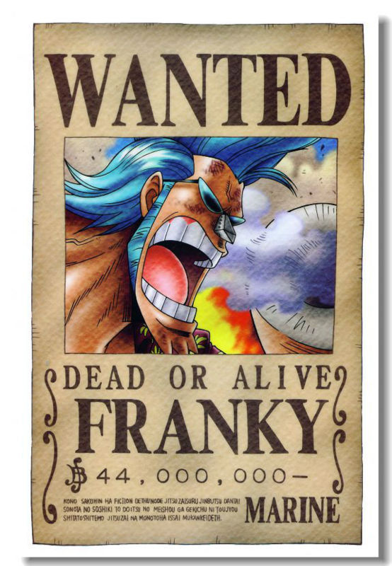 Free Ship Chopper Custom Canvas Poster Stylish One Piece Wanted Monkey D Luffy Wallpaper Franky Wallsticker Nice Gift Pn 719 Wanted Poster Posters Postersone Piece Poster Aliexpress