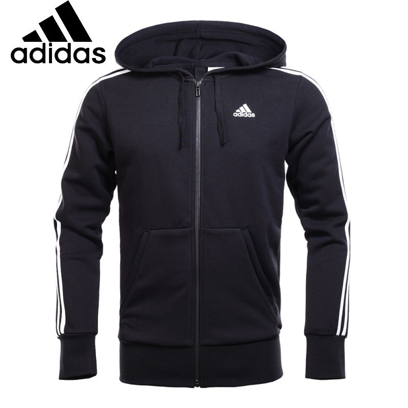 ADIDAS Original  New Arrival Quick Dry Breathable High Quality Comfortable Outdoor Men's jacket Hooded Sportswear
