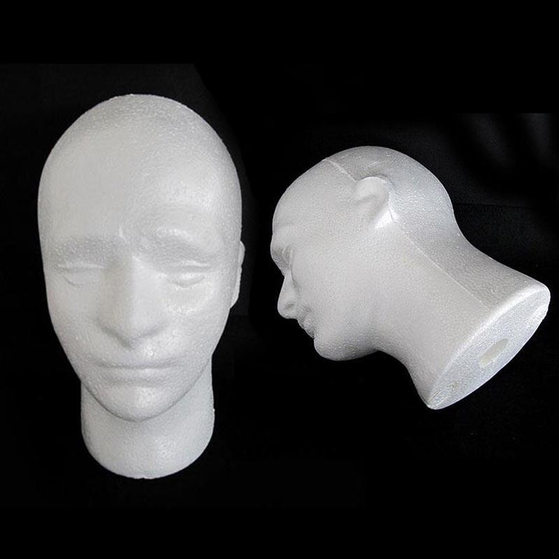 54cm Circumference Men PVC Skyltdocka Manikin Head Model för Cap Wig - Konst, hantverk och sömnad - Foto 3
