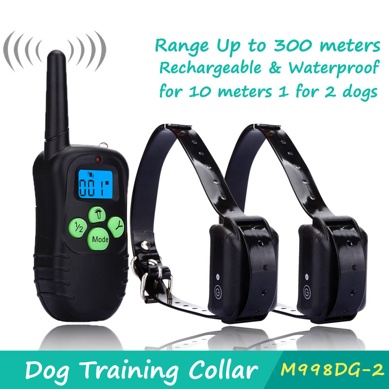 DeeiPet LED Backlight Rechargable 330YD Remote Dog