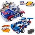 2016 controle remoto cars lepin decool building blocks educacional mini blocos blocos de construção de brinquedos para crianças presente de natal