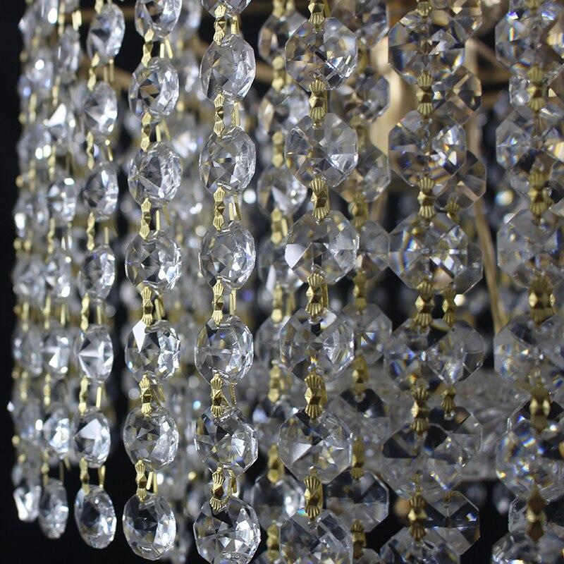 Modern retro plated crystal lustre Ceiling Lights E27 Plafonnier LED ceiling Lamp Luminaire For Living Room Modern LED Chandeliers | Modern Ceiling Lights | Modern retro plated crystal lustre Ceiling Lights E27 Plafonnier LED ceiling Lamp Luminaire For Living Room bedroom hotel hall