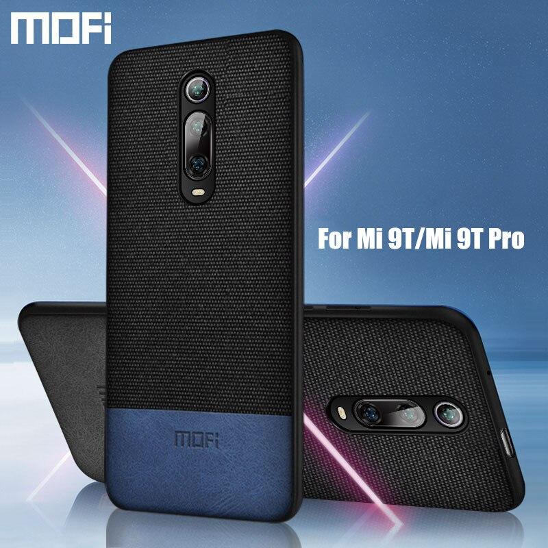 Für Xiao mi mi 9T pro fall abdeckung tuch stoff MOFi original mi 9T Pro schutz hard cover silikon stoßfest zurück fall