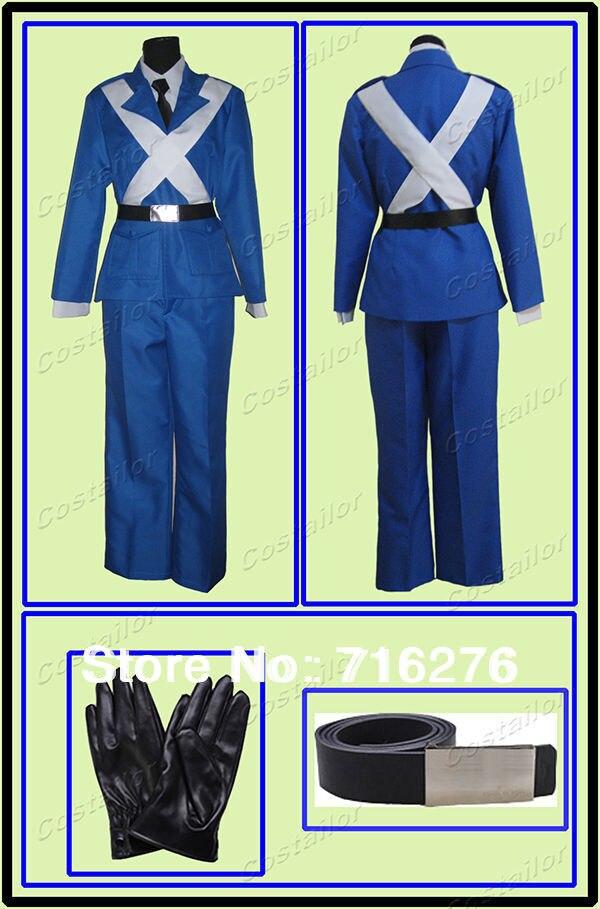 Модный костюм для косплея из Франции Kisstyle Axis Power Hetalia (APH), костюмы любого размера
