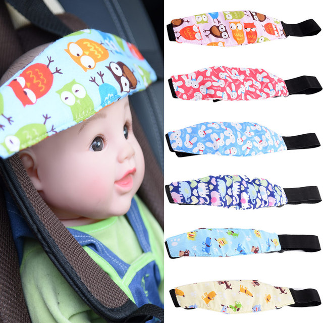 Baby Head Support Pram Stroller Infants Safety Seat Fastening Belt Adjustable Playpens And   Sleep Positioner for baby