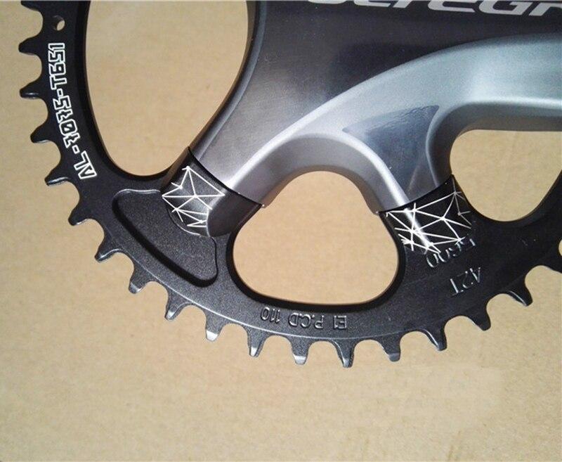 Fouriers Cnc 単チェーン BCD 110 ミリメートル 42t 46t 狭いワイド歯フィット 105 5800 アルテグラ 6800 11 速度 11 10s ロードバイクチェーンホイール  グループ上の スポーツ & エンターテイメント からの 自転車 クランク & チェーンホイール の中 3