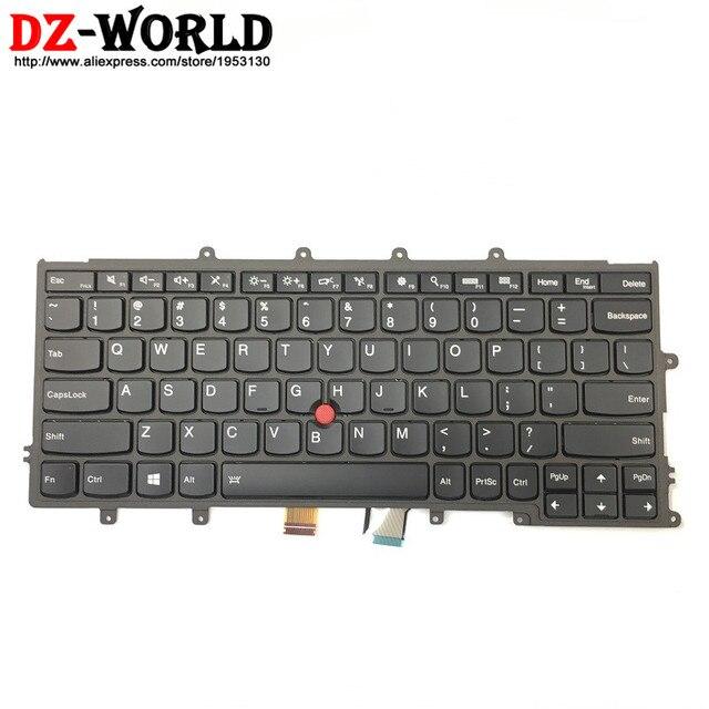 Новый оригинальный американский английский клавиатура подсветки для Thinkpad X230S X240 X240S X250 X260 ноутбука FRU PN 01AV500 01AV540 04X0177 04X0215