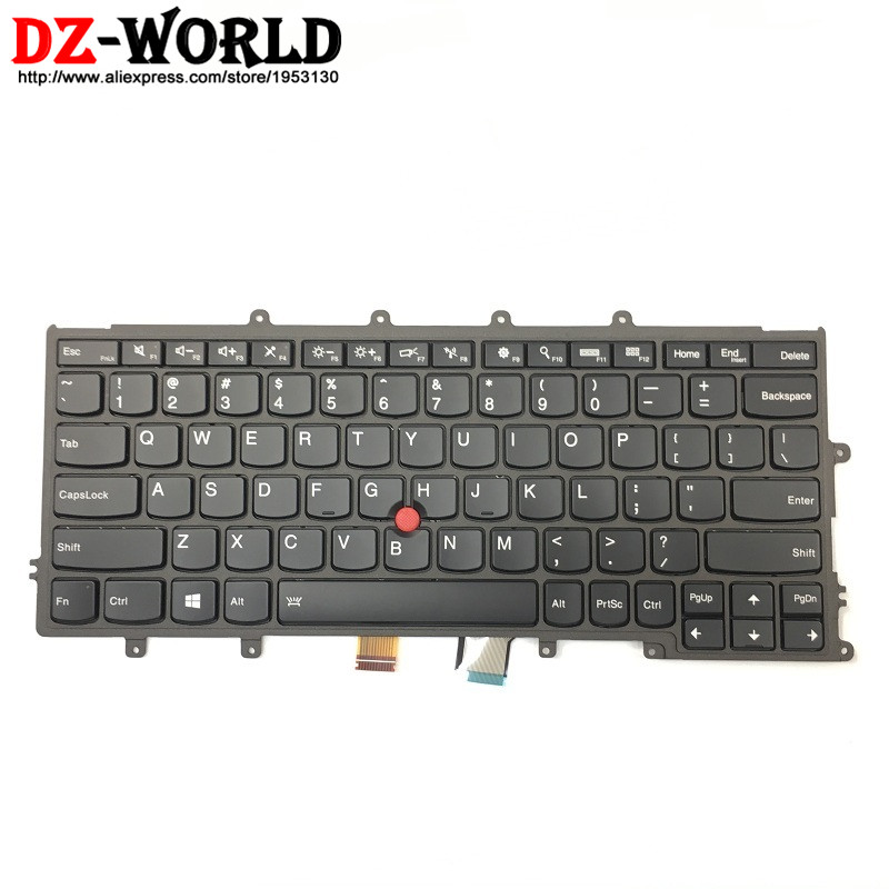 New Original Backlit Keyboard for Thinkpad X230S X240 X240S X250 X260 US English 01AV500 01AV540 04X0177 04X0215 SN20K79563 neworig keyboard bezel palmrest cover lenovo thinkpad t540p w54 touchpad without fingerprint 04x5544