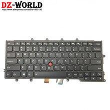 Nowy oryginalny US English klawiatura z podświetleniem dla Thinkpad X230S X240 X240S X250 X260 laptopa FRU PN 01AV500 01AV540 04X0177 04X0215