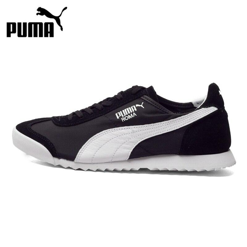 Prix pour D'origine PUMA Roma Slim Nylon Unisexe Planche À Roulettes Chaussures Sneakers