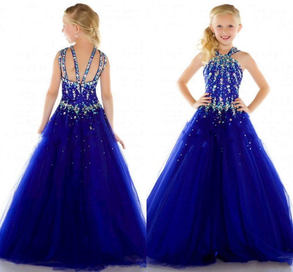 Compare Prices on Long Pageant Dresses for Kids- Online Shopping ...