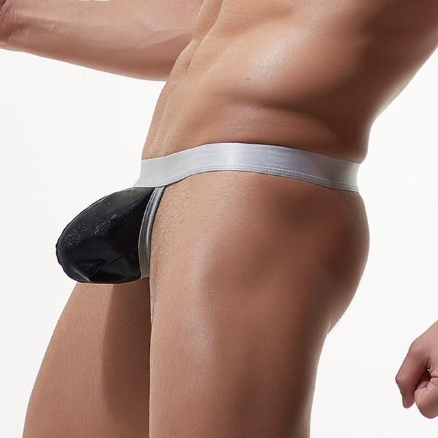 Gay cock in panties