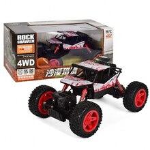 1:18 Rc автомобилей 2,4 г удаленного Управление автомобиля 4WD беговых восхождение автомобилей с Big Foot зарядки автомобиля игрушки для детей/взрослых Рождество