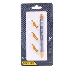 Qianli 007 008 009 Multifunctioal CPU IC środek do usuwania kleju nóż cienkie ostrze płyta główna układ BGA do czyszczenia kleju skrobanie podważ nóż