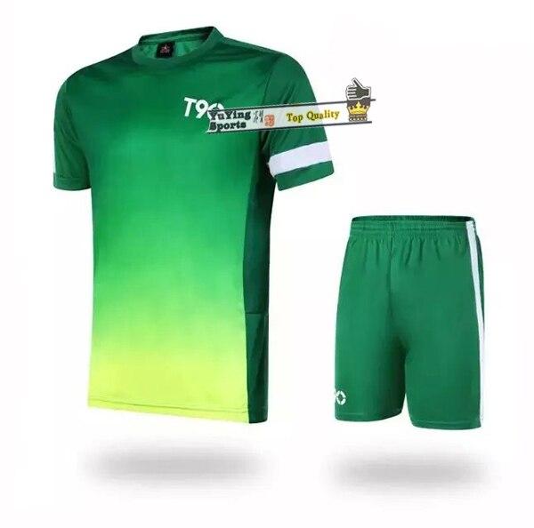 d0cdc4a1f 2015 t90 soccer jersey ball blank plate football shirt T90 football training  shirts Summer sport suit L-3XL freeshipping