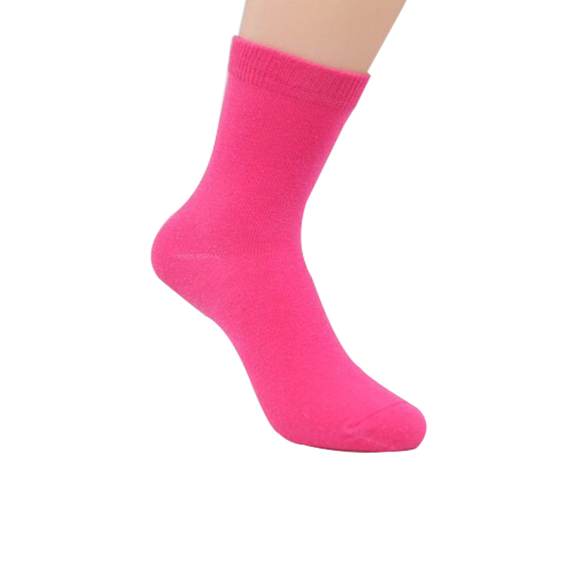 20 Pieces=10 Pairs Children Socks Spring&Autumn Cotton High Quality Candy Colors Girls Socks With Boys Socks 1-9 Year Kids Socks 3