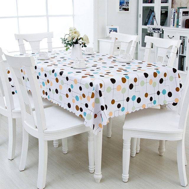 Haute Qualité PVC Imperméable Table Tissu Imprimé Oilproof Nappe ...