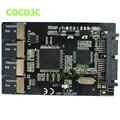"""Frete grátis multi cartão micro sd para cartão micro adaptador sata 1.8 """"caso hdd com RAID 4 TF para 16 pinos SATA conversor"""