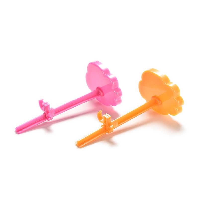 1Pc 玩具はモデル支持フレームのプロップアップマネキンモデル表示ホルダーピンクオレンジ色の人形 Accessorie