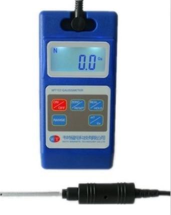 af984f21e49 WT103 digital medidor de Tesla material de ímã permanente do campo magnético  da superfície DC motor speaker medição magnética em Peças de instrumentos  ...