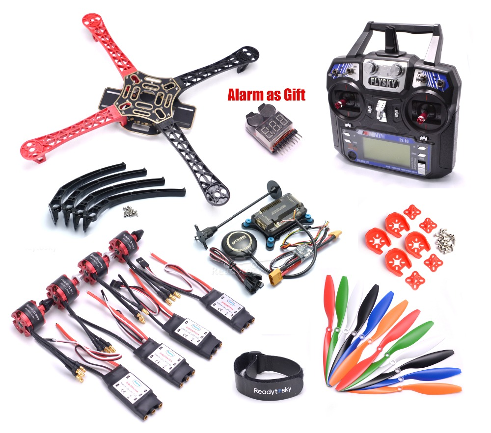F450 450mm Quadcopter Frame Kit w APM2 8 Controller board M8N GPS 30A Simonk esc 2212