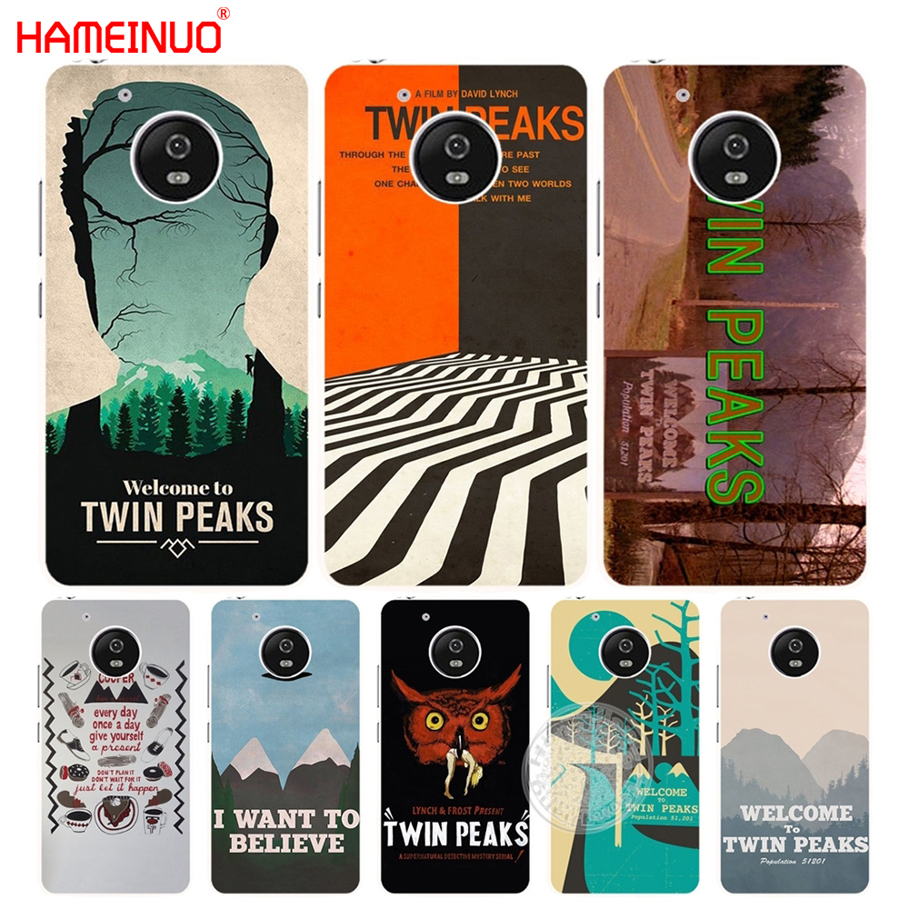 HAMEINUO Welcome To Twin Peaks case cover for Motorola Moto G6 G5 G5S G4 PLAY PLUS ZUK Z2 pro BQ M5.0