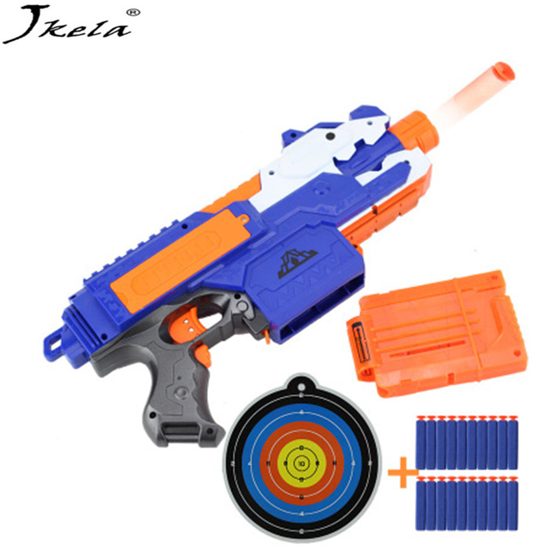 [New] Electric Soft Plastic Toy Gun Bullet Gun Sniper Rifle Gun Poor Arma Toys For Children Gift Perfectly Suited To Nerf Toy