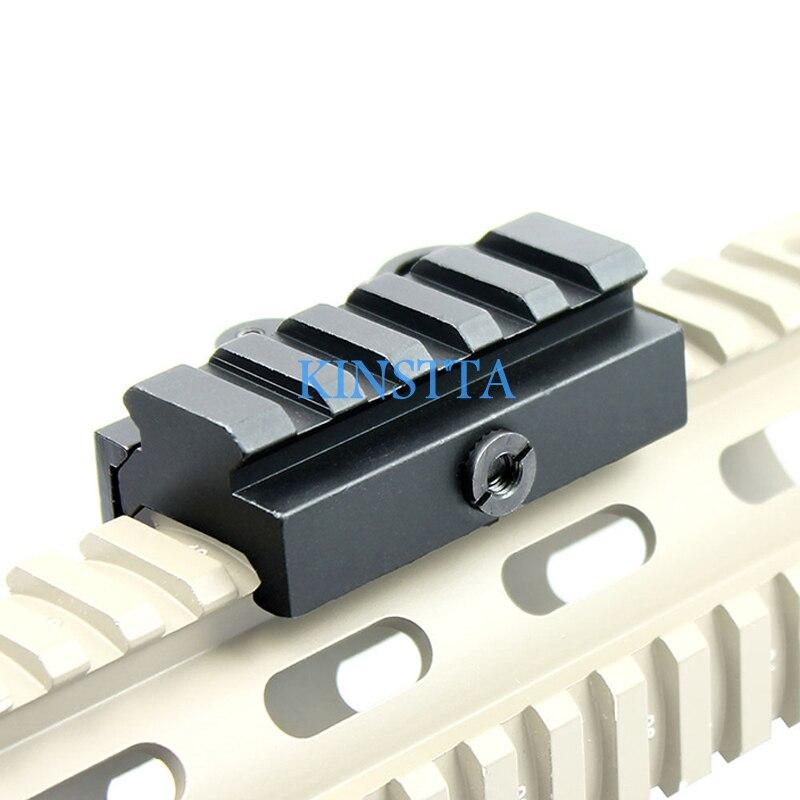 Tactique 1/2 pouces Demi-Pouce Mini Riser Mont Bloc Pour Picatinny Rails Avec Rapide Détacher QD Pour Airsoft Gun Chasse Tir