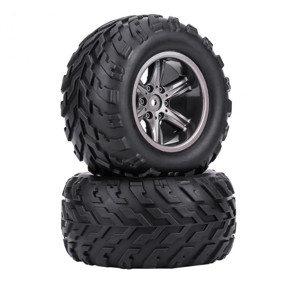 2pcs RC Model Car On Road TPR Tyre Tires & Hubs Wheel Rims Fit for 1:12 RC Racing Remote Control Car Truck Crawler Parts wholesale 2pcs lot for robot 1 10 rc car rc rubber tires tyre