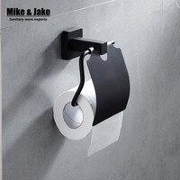 Blackend stainless steel Toilet Paper Holder paper Roll Holder,Tissue Holder,Bathroom Accessories Products black paper holder