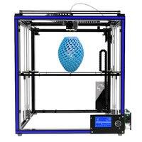 Độ chính xác cao Tronxy X5S Nhôm Hồ Sơ Khung 3D Máy In Lớn In Khu Vực CoreXY Hệ Thống 12864 P LCD Màn Hình Lớn